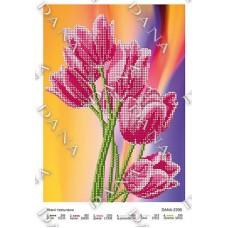 """Схема для вышивки бисером """"Нежные тюльпаны"""" (Схема или набор)"""