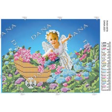 """Схема для вышивки бисером """"Ангел цветов"""" (Схема или набор)"""
