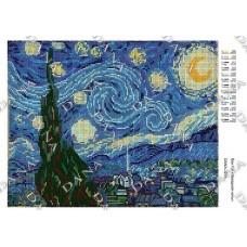 """Схема для вышивки бисером """"Звездная ночь"""" (Схема или набор)"""
