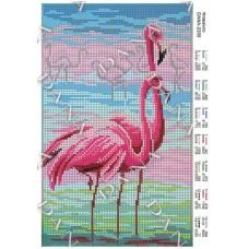 """Схема для вышивки бисером """"Фламинго"""" (Схема или набор)"""