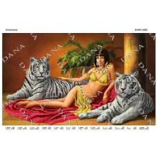 """Схема для вышивки бисером """"Клеопатра"""" (Схема или набор)"""