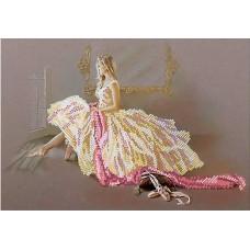 """Схема для вышивки бисером """"Балерина 2"""" (схема или набор)"""