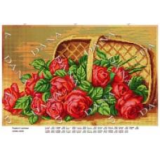 """Схема для вышивки бисером """"Красные розы"""" (Схема или набор)"""