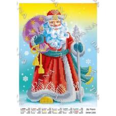 """Схема для вышивки бисером """"Дед Мороз"""" (Схема или набор)"""