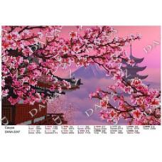 """Схема для вышивки бисером """"Сакура"""" (Схема или набор)"""