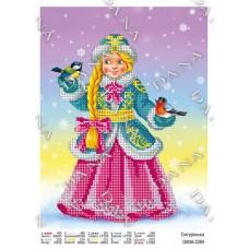 """Схема для вышивки бисером """"Снегурочка"""" (Схема или набор)"""