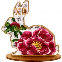 Набор для вышивки бисером по дереву «Кролик FLK-085».