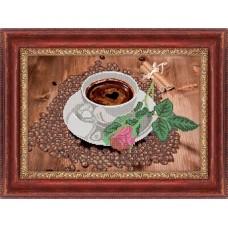 """Схема для вышивания бисером """"Романтическое кофе"""" (Схема или набор)"""