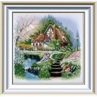 """Схема для вышивки бисером """"Дом у озера"""" (Схема или набор)"""