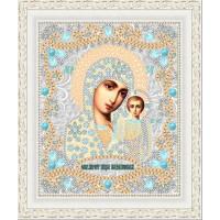 """Икона для вышивки бисером """"Казанская БМ"""" (Схема или набор)"""