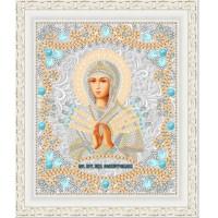 """Икона для вышивки бисером """"Божия матерь Семистрельная"""" (Схема или набор)"""