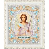 """Икона для вышивки бисером """"Святой Ангел Хранитель"""" (Схема или набор)"""