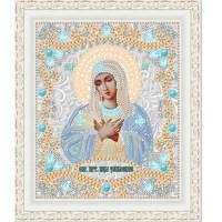 """Икона для вышивки бисером """"Образ Пресвятой Богородицы Умиление"""" (Схема или набор)"""