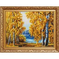 """Схема для вышивки бисером """"Янтарный лес"""" (Схема или набор)"""