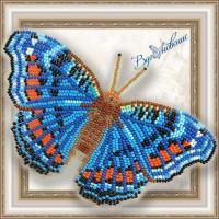 """Набор магнит- бабочка для вышивки бисером """"Прецис Октавия""""."""