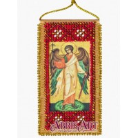 "Набор-оберег для вышивки бисером ""Молитва Ангелу-хранителю"""