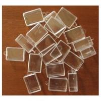Коробочка-органайзер  для бисера  3,2 х 4,5 х2,2 см