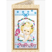 Набор для вышивки бисером открытки «Ангелочек».