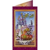Набор для вышивки бисером открытки «Пасхальный сюжет 2»
