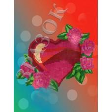 """Схема под вышивку бисером """"Розы любви"""" (Схема или набор)"""