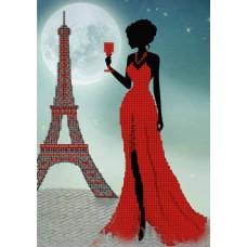 "Схема под вышивку бисером ""Парижанка"" (Схема или набор)"