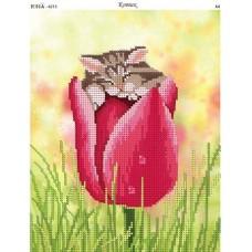 """Схема для вышивания бисером """"Котик"""" (Схема или набор)"""