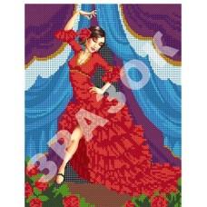 """Схема для вышивки бисером """"Испанский танец"""" (Схема или набор)"""