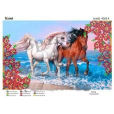 """Схема для вышивки бисером """"Лошади"""" (Схема или набор)"""