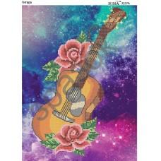 """Схема для вышивки бисером """"Гитара"""" (Схема или набор)"""