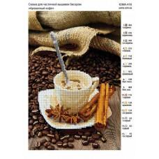 Схема под вышивку бисером Ароматный кофе (схема или набор)