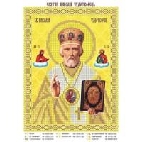 """Схема иконы под  вышивку бисером """"Святой Николай Чудотворец"""" (Схема или набор)"""
