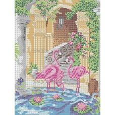 Розовые Фламинго (схема или набор)