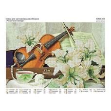 """Схема под вышивку бисером """"Романтические мелодии"""" (схема или набор)"""