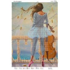"""Схема для вышивки бисером """"Мелодия ветра"""" (Схема или набор)"""