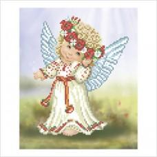 """Схема под вышивку бисером """"Ангел в вышиванке"""" (Схема или набор)"""