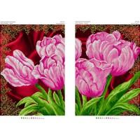 """Диптих для вышивки бисером """"Тюльпаны"""" (Схема или набор)"""