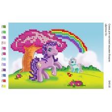 Пони (лошадки - детская картинка)