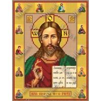 """Схема иконы под вышивку бисером """"Иисус Христос и 12 апостолов"""" (Схема или набор)"""